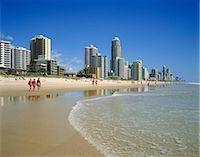queensland - Gold Coast resort, Australia Stock Photo - Premium Rights-Managednull, Code: 855-03255257