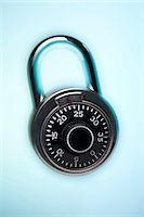 Combination lock Stock Photo - Premium Royalty-Freenull, Code: 640-03257959