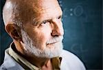 Closeup of male science teacher Stock Photo - Premium Royalty-Freenull, Code: 640-03260883