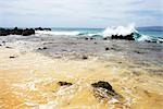 Waves Crashing on Beach, Maui, Hawaii, USA Stock Photo - Premium Royalty-Free, Artist: Angus Fergusson, Code: 600-03265832