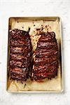Cooked Ribs in Baking Tray Stock Photo - Premium Rights-Managed, Artist: Angus Fergusson, Code: 700-03265802