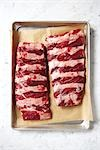 Uncooked Ribs in Baking Tray Stock Photo - Premium Rights-Managed, Artist: Angus Fergusson, Code: 700-03265806