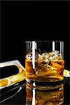 Scotch on the Rocks Stock Photo - Premium Rights-Managed, Artist: Angus Fergusson, Code: 700-03265810