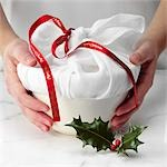 Christmas Pudding Stock Photo - Premium Rights-Managed, Artist: foodanddrinkphotos, Code: 824-03285269