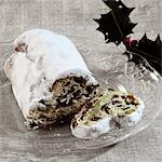 Stollen Stock Photo - Premium Rights-Managed, Artist: foodanddrinkphotos, Code: 824-03285278