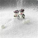 Candy Snowmen/ Christmas Stock Photo - Premium Rights-Managed, Artist: foodanddrinkphotos, Code: 824-03285287
