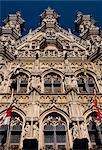 The Gothic stadhuis,or town hall,dominates central Leuven. Stock Photo - Premium Rights-Managed, Artist: AWL Images, Code: 862-03289392