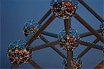 Belgium,Brussels. The Atomium monument in Brussels,built for Expo '58,the 1958 Brussels World's Fair. Stock Photo - Premium Rights-Managed, Artist: AWL Images, Code: 862-03289403