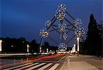 Belgium,Brussels. The Atomium monument in Brussels,built for Expo '58,the 1958 Brussels World's Fair. Stock Photo - Premium Rights-Managed, Artist: AWL Images, Code: 862-03289404