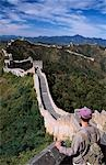 Trekker on The Great Wall of China Stock Photo - Premium Rights-Managed, Artist: AWL Images, Code: 862-03289829