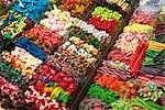 Candy Store, Barcelona Market, Catalunya, Spain Stock Photo - Premium Royalty-Free, Artist: Grant Harder, Code: 600-03290000