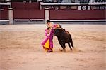 Matador and Bull, Plaza de Toros. Madrid, Spain Stock Photo - Premium Rights-Managed, Artist: Grant Harder, Code: 700-03290017
