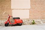 Scooter Parked on Sidewalk, Madrid, Spain Stock Photo - Premium Rights-Managed, Artist: Grant Harder, Code: 700-03290018
