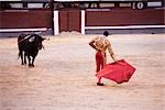 Matador and Bull, Plaza de Toros. Madrid, Spain Stock Photo - Premium Rights-Managed, Artist: Grant Harder, Code: 700-03290020
