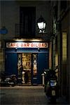 Bar at Night, Bilbao, Spain Stock Photo - Premium Rights-Managed, Artist: Grant Harder, Code: 700-03290024