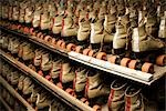 Row of Roller Skates on Shelf Stock Photo - Premium Rights-Managed, Artist: Grant Harder, Code: 700-03290040