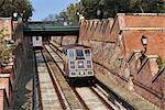 Funicular, Buda, Budapest, Hungary Stock Photo - Premium Rights-Managed, Artist: Rudy Sulgan, Code: 700-03290163