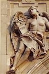 Statue, Royal Palace, Buda, Budapest, Hungary