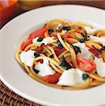 Pasta Caprese Stock Photo - Premium Royalty-Free, Artist: David Papazian, Code: 600-03294898
