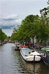 View of Canal, Amsterdam, Netherlands Stock Photo - Premium Rights-Managed, Artist: Atli Mar Hafsteinsson, Code: 700-03294858