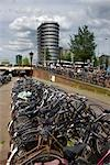Bicycle Parking Spot, Amsterdam, Netherlands Stock Photo - Premium Rights-Managed, Artist: Atli Mar Hafsteinsson, Code: 700-03294859