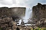 Oxararfoss Waterfall at Thingvellir National Park, Iceland Stock Photo - Premium Rights-Managed, Artist: Atli Mar Hafsteinsson, Code: 700-03294866
