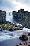 Oxararfoss Waterfall at Thingvellir National Park, Iceland Stock Photo - Premium Rights-Managed, Artist: Atli Mar Hafsteinsson, Code: 700-03294869