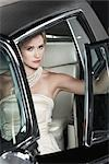 Portrait of Glamourous Woman in a 1964 Chevrolet Imperial LeBaron Stock Photo - Premium Rights-Managed, Artist: Michael Mahovlich, Code: 700-03295277