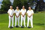 male bowls team Stock Photo - Premium Royalty-Free, Artist: Bettina Salomon, Code: 649-03297516