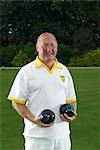 male bowler smiling Stock Photo - Premium Royalty-Free, Artist: Masterfile, Code: 649-03297528