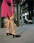 Woman in High Heels, Man in the Background Stock Photo - Premium Rights-Managed, Artist: Harald Vorsteher, Code: 700-03299200