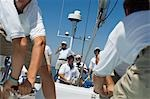 Crew on Yacht Stock Photo - Premium Royalty-Free, Artist: Westend61, Code: 693-03299385