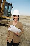 Surveyor on Construction Site Stock Photo - Premium Royalty-Free, Artist: Derek Shapton, Code: 693-03300007