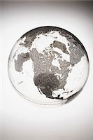 Inflatable Globe showing North America Stock Photo - Premium Royalty-Freenull, Code: 693-03303019