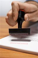 stamping (all meanings) - Man Using