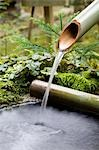 Water flowing from bamboo pipe Stock Photo - Premium Royalty-Free, Artist: JTB Photo, Code: 693-03312840