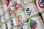 Sake Barrels Near Entrance of Meiji Shrine Stock Photo - Premium Royalty-Free, Artist: Robert Harding Images    , Code: 693-03313484