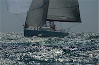 sailing boat storm - Yacht competes in team sailing event, California Stock Photo - Premium Royalty-Freenull, Code: 693-03314260