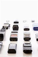 Mobile phones in rows Stock Photo - Premium Royalty-Freenull, Code: 694-03324629