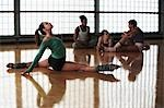 Ballet Dancers at Rehearsal Stock Photo - Premium Royalty-Free, Artist: Cusp and Flirt, Code: 694-03325449