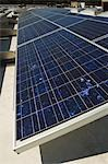 Solar Panels at Solar Power Plant Stock Photo - Premium Royalty-Freenull, Code: 694-03330226