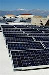 Solar Panels at Solar Power Plant Stock Photo - Premium Royalty-Freenull, Code: 694-03330230