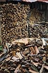 Firewood and wood shed in Latvia Stock Photo - Premium Royalty-Free, Artist: Robert Harding Images    , Code: 694-03333039