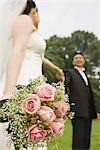 Newlywed Couple in Park Stock Photo - Premium Royalty-Free, Artist: Marcus Mok, Code: 600-03333308