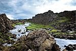 View of Oxara River, Thingvellir National Park, Iceland Stock Photo - Premium Royalty-Free, Artist: Atli Mar Hafsteinsson, Code: 600-03333513