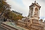 Fontaine des Quatre Eveques, Place Saint Sulpice, Paris, Ile-de-France, France Stock Photo - Premium Rights-Managed, Artist: Damir Frkovic, Code: 700-03333589
