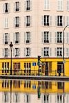 Building at Canal St Martin, Paris, Ile-de-France, France Stock Photo - Premium Royalty-Free, Artist: Damir Frkovic, Code: 600-03333609