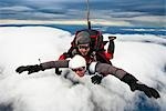 Tandem Skydiving Stock Photo - Premium Rights-Managed, Artist: R. Ian Lloyd, Code: 700-03333696