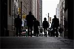 Rear view of pedestrians in an arcade, Philadelphia, PA, USA Stock Photo - Premium Royalty-Free, Artist: Uwe Umsttter, Code: 653-03333950
