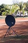 A portable satellite dish Stock Photo - Premium Royalty-Free, Artist: Siephoto, Code: 653-03334126